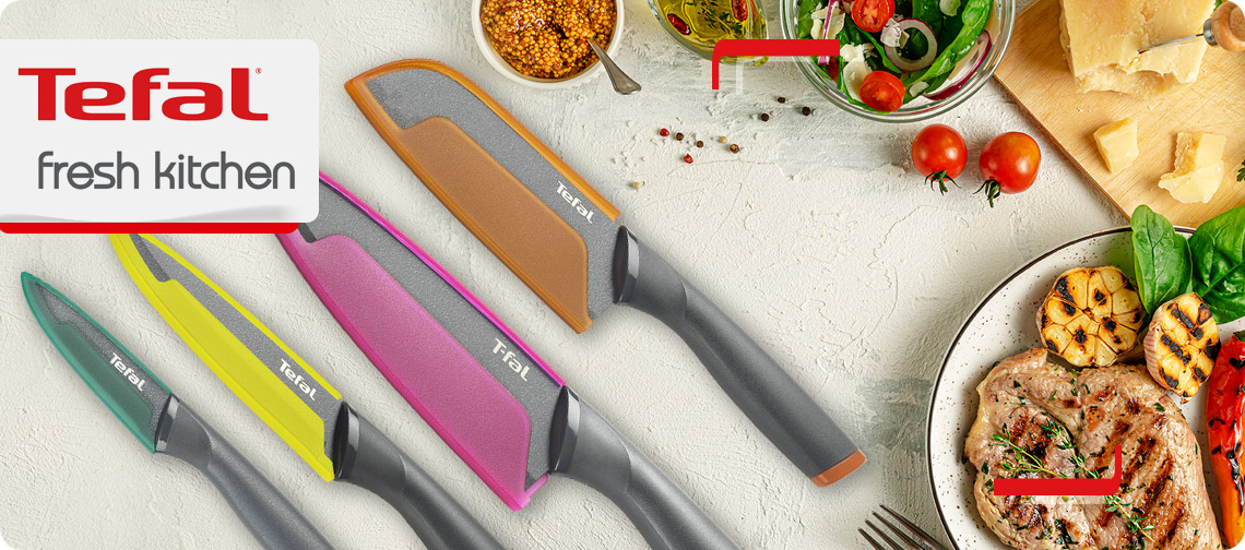 CuchillosTefal Fresh Kitchen