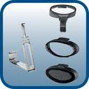 3 accesorios, cepillo de tela, cepillo suave y para lograr un pliegue ideal