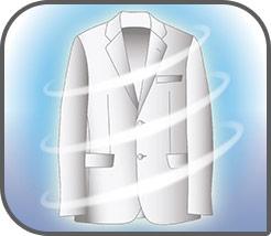 Elimina olores, ácaros y desinfecta las prendas