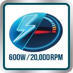 Hasta 20mil RPM