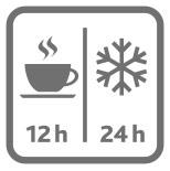 Mayor conservación de la temperatura
