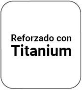 Ollas reforzadas en Titanium