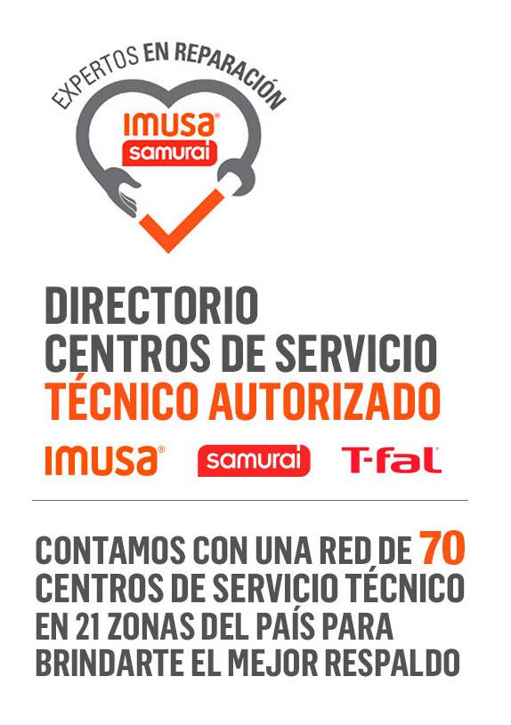 Centros de servicio