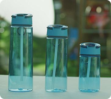 Botella para el agua resistente a impactos