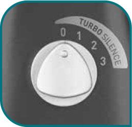 3 velocidades de mayor flujo de aire y bajo nivel de ruido