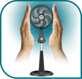 Un ventilador ideal para espacios pequeños