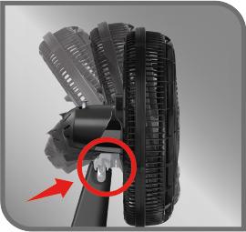 botón lateral para inclinación