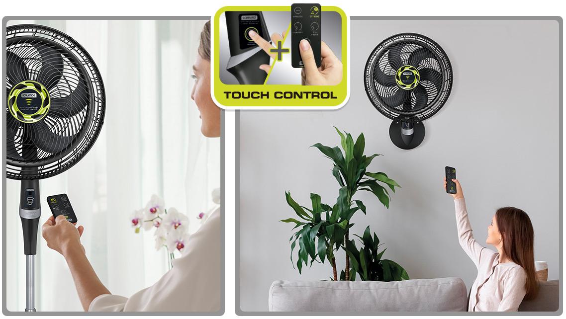 comprar ventilador con control remoto