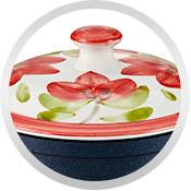Tapas de cerámica