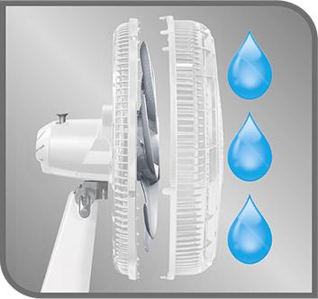 Malla frontal removible para lavar fácilmente