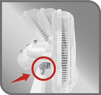 Inclinación accionada por botón lateral