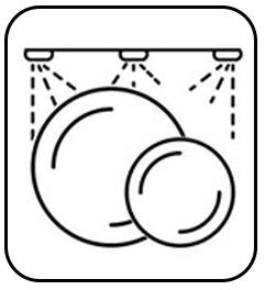 Apto para lava vajillas y fáciles de lavar.