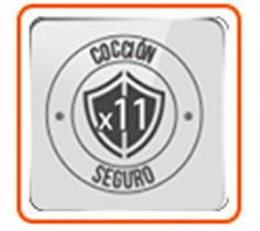11 Sistemas de seguridad. No abre mientras hay presión