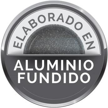 Elaborado en aluminio fundido
